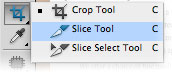Slice Tool in Adobe Photoshop